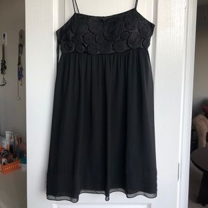Beautiful, simple black party dress by SL Fashions